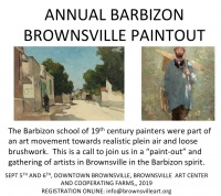 Barbizon Brownsville Paint Out