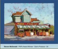 Frank Bette Plein Air Paintout
