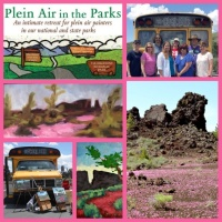 Plein Air in the Parks - Craters of the Moon Retreat