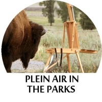 Plein Air in the Parks - Yellowstone Retreat